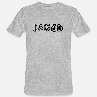 Jagged jag aslkar - Men's Organic T-Shirt