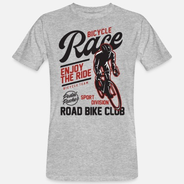 Corsa Su Strada Bicycle Race Road Bike Cycling Club Cyclist Gift - Maglietta ecologica uomo