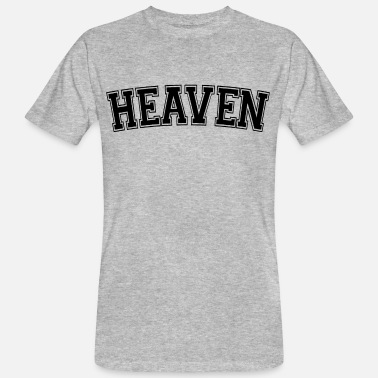 Heaven Heaven-collectie - Mannen bio T-shirt