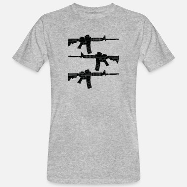 Machine Gun Machine gun Kalashnikov - Men's Organic T-Shirt