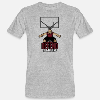 Defensiv Basket defensiv - Ekologisk T-shirt herr