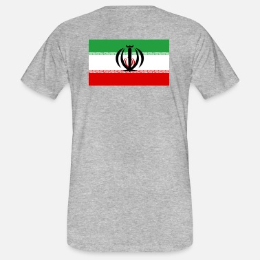 Persia National Coat of Arms of Iran - Men's Organic T-Shirt