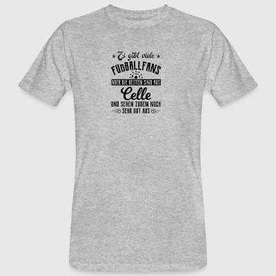 Football T-shirt - Celle gift - Mannen Bio-T-shirt