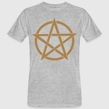 pentagram Wicca - Men's Organic T-shirt