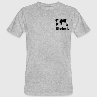 global Theme - Ekologisk T-shirt herr
