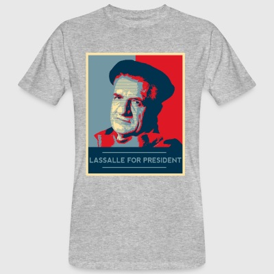 Lassalle-Obama For President - T-shirt ecologica da uomo