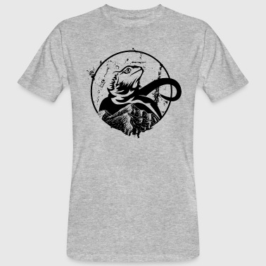 Bearded Dragon - Mannen Bio-T-shirt