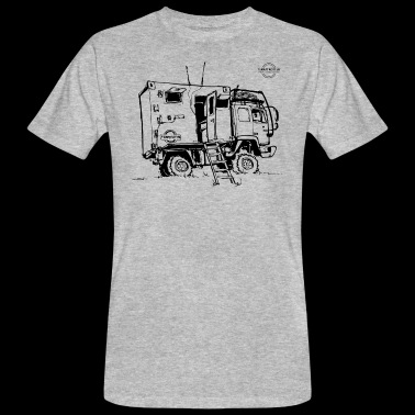 Expedition Truck | Terratrotter® - Men's Organic T-shirt