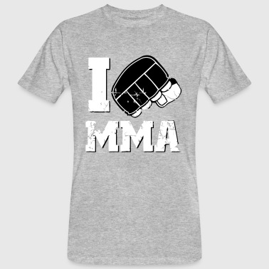 I LOVE MMA - Men's Organic T-shirt