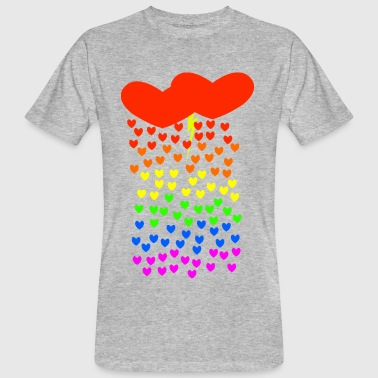 Gay Love Storm - Men's Organic T-shirt