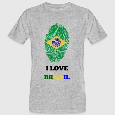 I LOVE BRAZIL - Men's Organic T-shirt