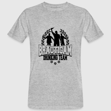Groom drinking team - stag JGA - Men's Organic T-shirt