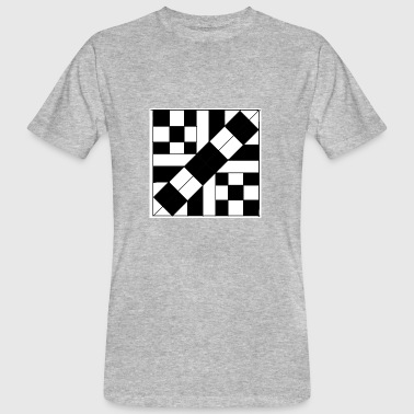 checker patterned art - Men's Organic T-shirt