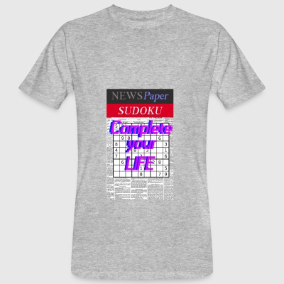 Complete Your Life - Camiseta ecológica hombre