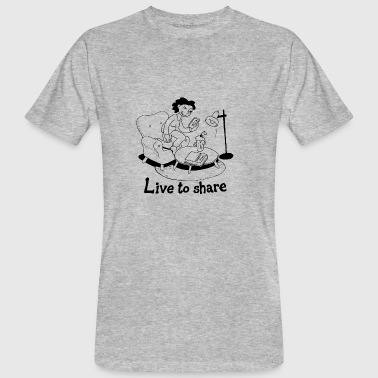Live to share - Men's Organic T-shirt