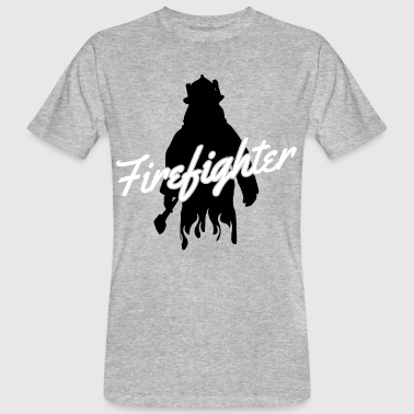 Firefighter - Mannen Bio-T-shirt
