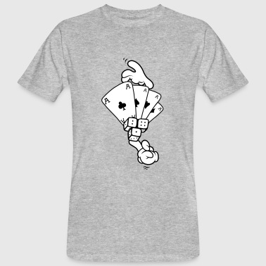 Hands - Gambling - Men's Organic T-shirt