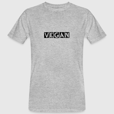 Vegan - Men's Organic T-shirt