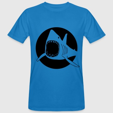 Shark / Due - T-shirt ecologica da uomo