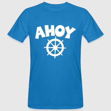 Ahoy Wheel Segel Design - Men's Organic T-shirt