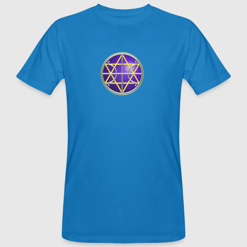 Ummac Dan - Galactic Federation Symbol For The Sirian Star System, digital - Men's Organic T-shirt