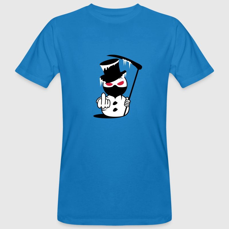 Evil Snowman  Fuck you - Men's Organic T-shirt