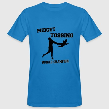 Midget Tossing World Champion - Men's Organic T-shirt
