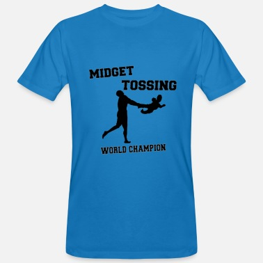 Midget Midget Tossing World Champion - Men's Organic T-Shirt