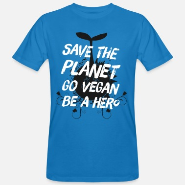 Alternative Lifestyle Vegan Lifestyle - Save the Planet Shirt Gift - Men's Organic T-Shirt