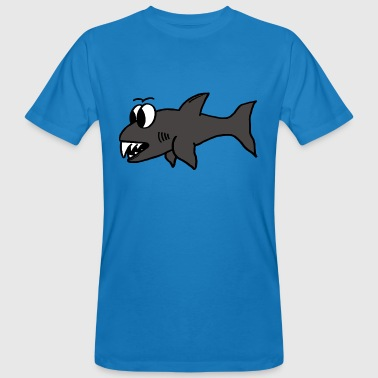 Shark Cartoon Cartoon shark - Men's Organic T-Shirt
