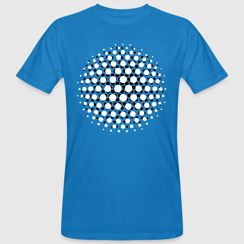 FUNKY DISCO SUPERNOVA - MOIRE PATTERN - by toneyshirts.de - Men's Organic T-shirt