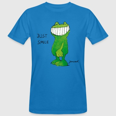 Janoschs Günter Kastenfrosch Just Smile - Men's Organic T-shirt
