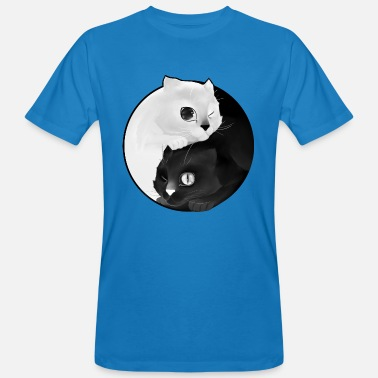 Yin Yang kitten - Men's Organic T-Shirt