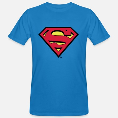 Superman Logo - Mannen Bio-T-shirt