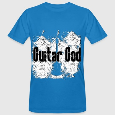 Rock God Guitar God - Men's Organic T-Shirt