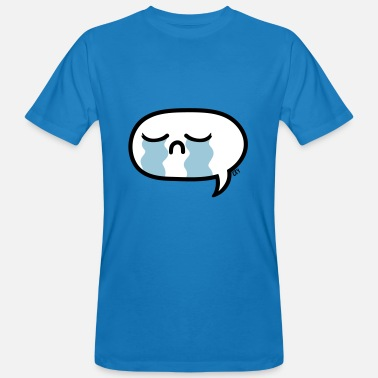 Crying Comic Cry tears grief Cry Comic Toon Godigart - Men's Organic T-Shirt