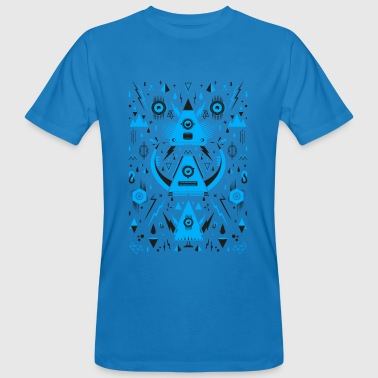 Abstract Triangle Transformation - Men's Organic T-shirt