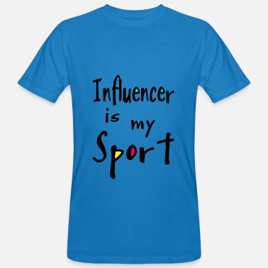 Influence Influencer - T-shirt bio Homme