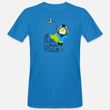 Lunatique lunatique pop - T-shirt bio Homme