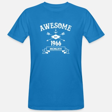 Est.1966 Awesome Est. 1966 - Men's Organic T-Shirt