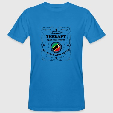 DON T NEED THERAPY GO ST KITTS AND NEVIS - Men's Organic T-Shirt