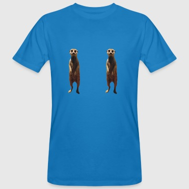 Simples The Mongoose - Men's Organic T-Shirt