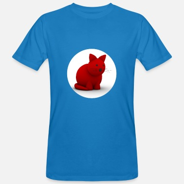 Red Cat Red Cat - Men's Organic T-Shirt