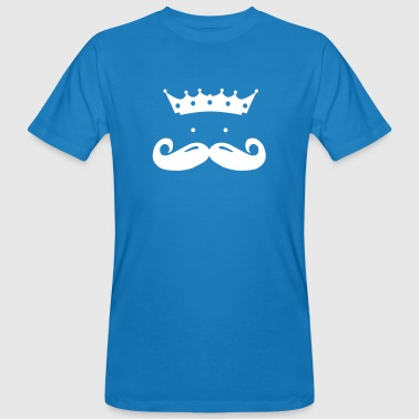 moustache king - Männer Bio-T-Shirt