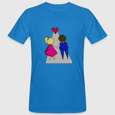 Happy family - Men's Organic T-Shirt