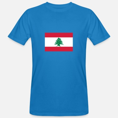 Hezbollah National Flag Of Lebanon - Men's Organic T-Shirt