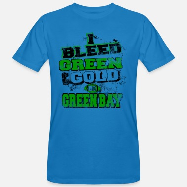 Green And Gold I bleed green and gold - Men's Organic T-Shirt