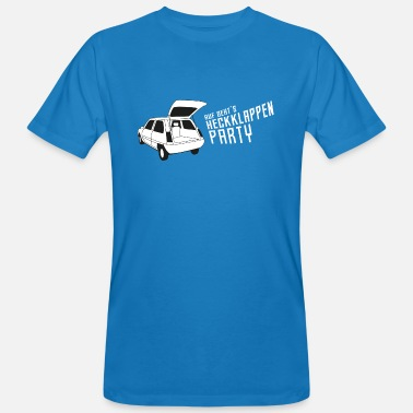 Heckklappe Heckklappen-Party / Kofferraum-Party / Auto-Party - Männer Bio T-Shirt