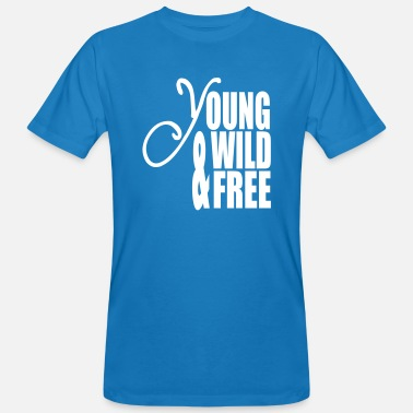 Young Wild And Free Young Wild and Free - Ekologisk T-shirt herr