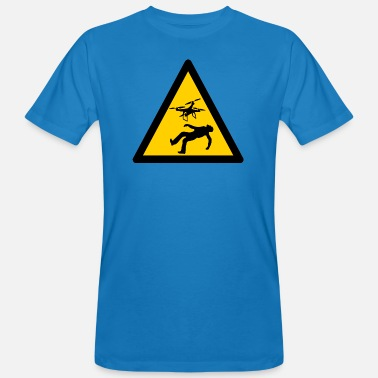 Warn Warning Warning Warning Warning Signs - Men's Organic T-Shirt